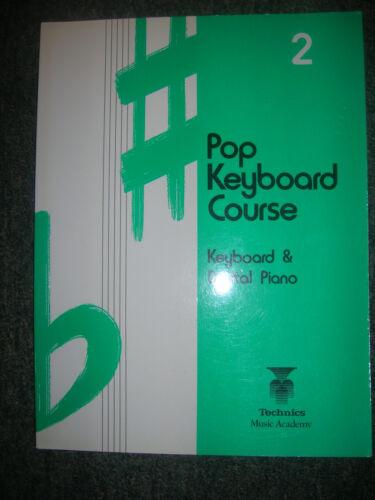 Pop Keyboard Course Book Technics Music Academy Book 2