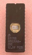 2 PCS - AMD AM2764A-2DC UV EPROM