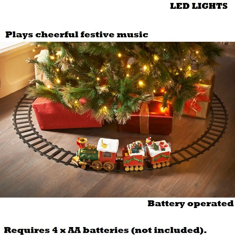 Nouveau noël pôle nord musical express train set led lumière lumière led jouets c139c0