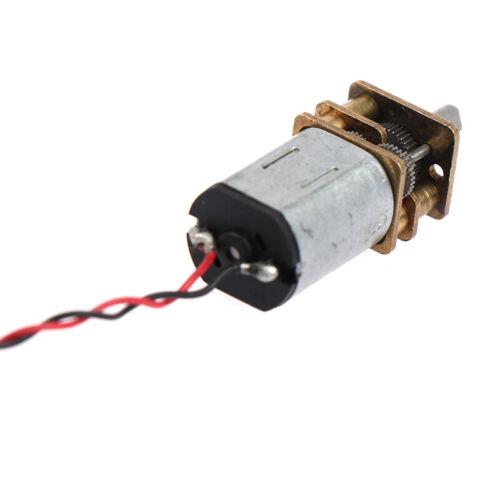Micro N20 Gear Motor Slow Speed Metal Gearbox Reducer Electric Motor DIY To*ng