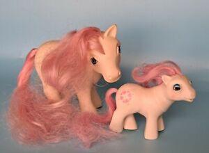 Vintage 1986 My Little Pony MLP G1 BABY Beddy Bye Eye Eyes Sundance BBE White