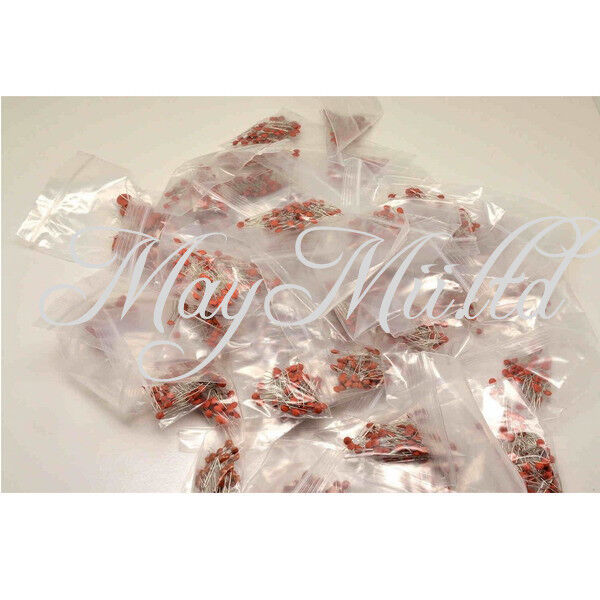 30 Values 300pcs Ceramic Capacitor 2pf-0.1UF Assortment Kit W