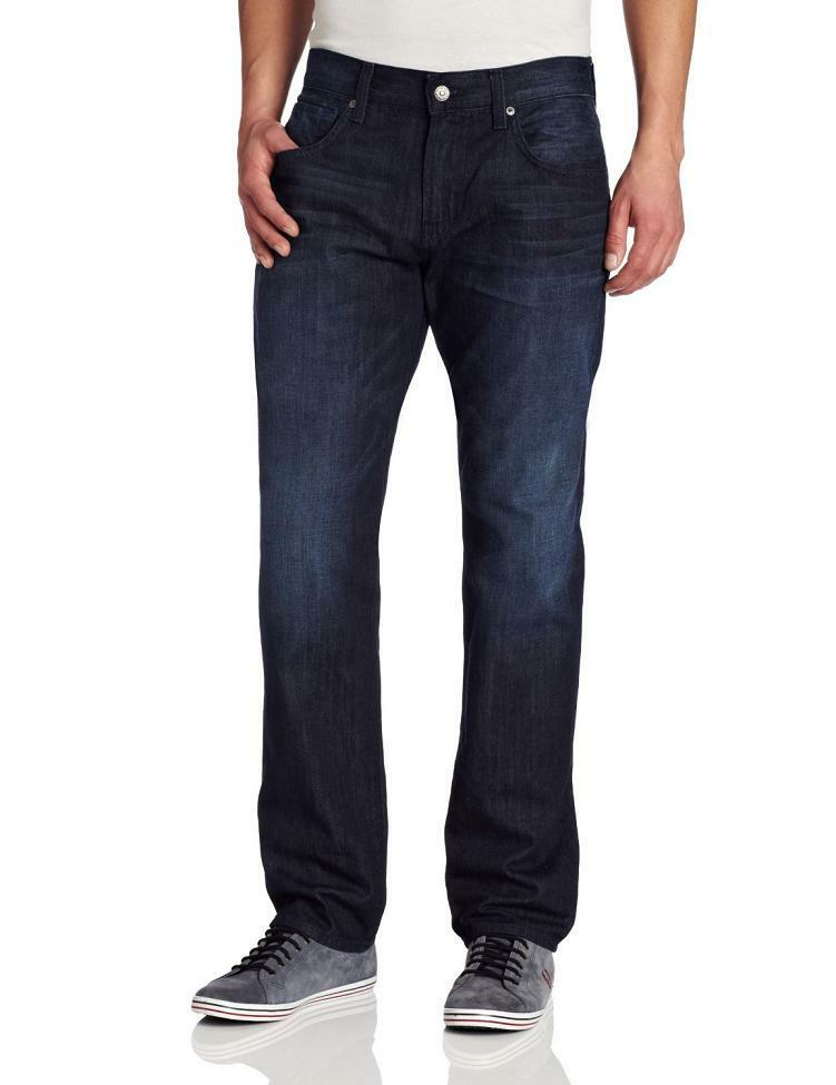7 for All Mankind Mens Modern Straight Leg Jeans in Manhattan Bay  NEW 32x34