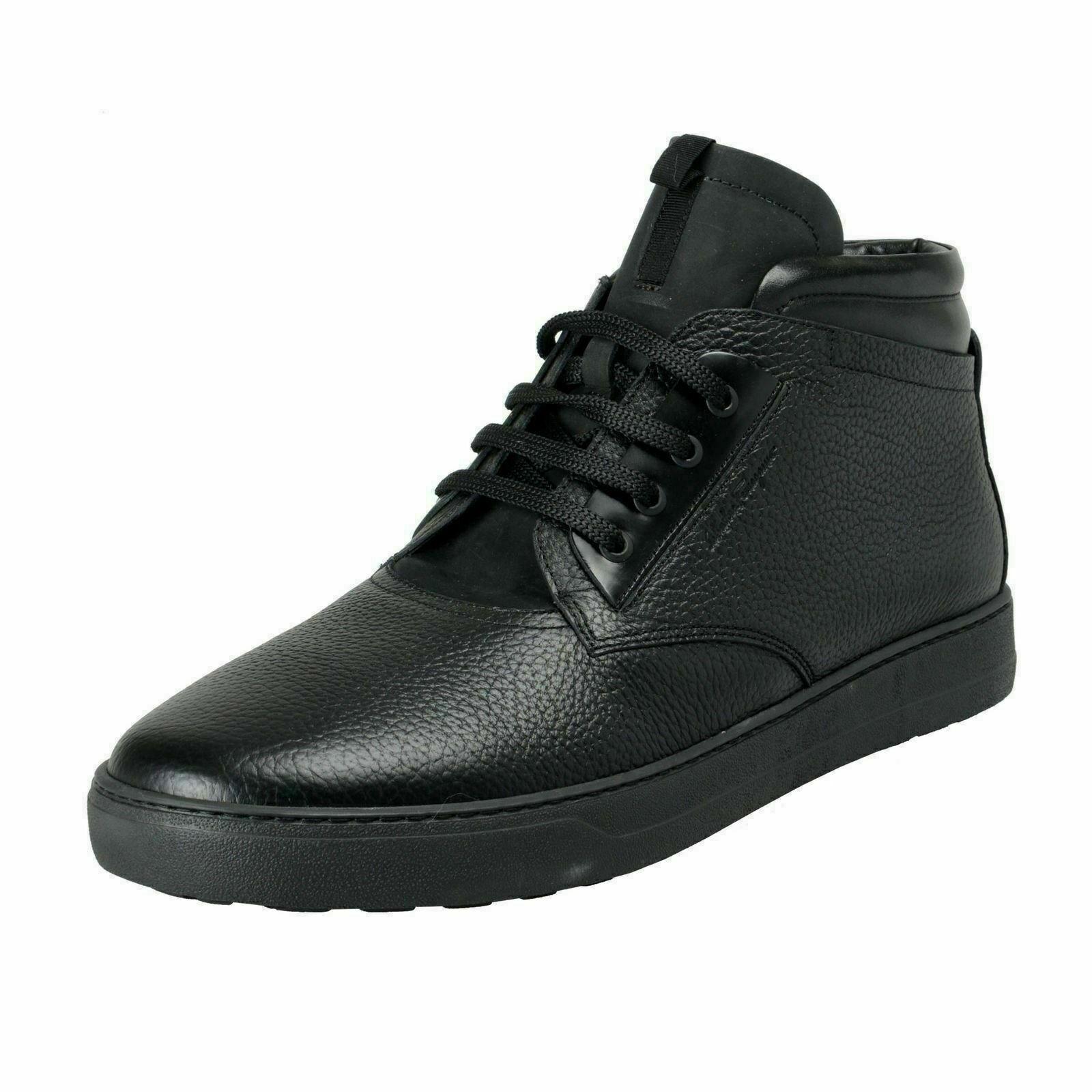 Salvatore Ferragamo Men's GORIZIA 3 Winter Fur Boots shoes US 12 EEE EU 45 eee