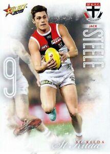 New-2019-ST-KILDA-SAINTS-AFL-Card-JACK-STEELE-Footy-Stars