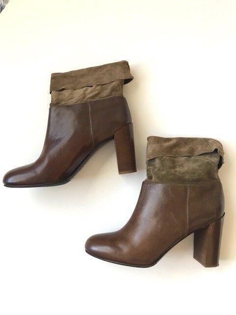 Nuevo  Vince Italia botas talla 41 EE. EE. EE. UU. 9,5 tobillo fiesta cóctel oficina de trabajo ciudad  centro comercial de moda