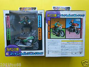 Petit Lupin Box & Model Bike Figure Pvc III Vert Torutoru Catcher Dx