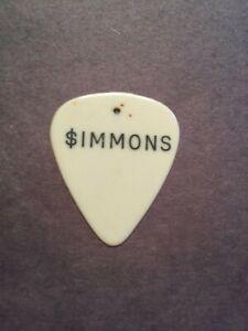KISS Alive Era 1975 Gene Simmons Guitar Pick RARE