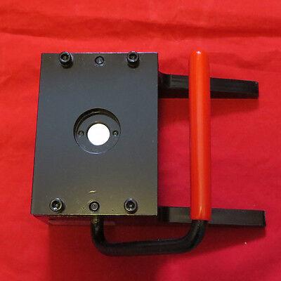 "3.5/"" 3-1//2 inch Tecre Round Graphic Punch for Tecre Button Maker Button Machines"
