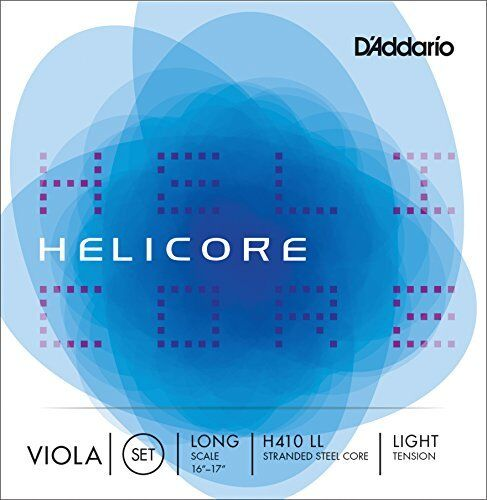 D'Addario Helicore lila String Set, Long Scale, Light Tension