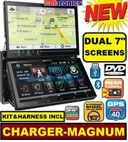 05 06 07 Dodge Magnum Charger Navigation Bluetooth Cd/dvd Bt Usb Radio Stereo