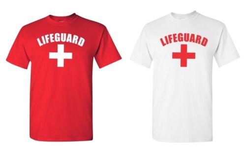 Shirt YMCA Pool Staff Swimming Lifeguard T