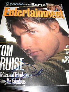 TOM-CRUISE-SIGNED-ENTERTAINMENT-WEEKLY-MAG-MISSION-IMPOSSIBLE-SEXY-STUD-RARE-D