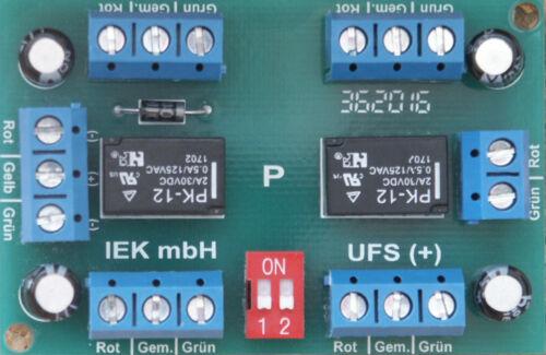 Universal-telerupteur, ufs +, relais bistabil 1x4 ou 2x2 pour, relais Carte