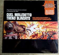 Francesco De Masi – Quel Maledetto Treno Blindato - LP nuovo Sigillato/SEALED
