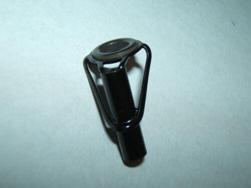 STAINLESS BLACK 3.0mm INSIDE DIAMETER FISHING ROD TIP END EYE HEMATITE EYELET7mm