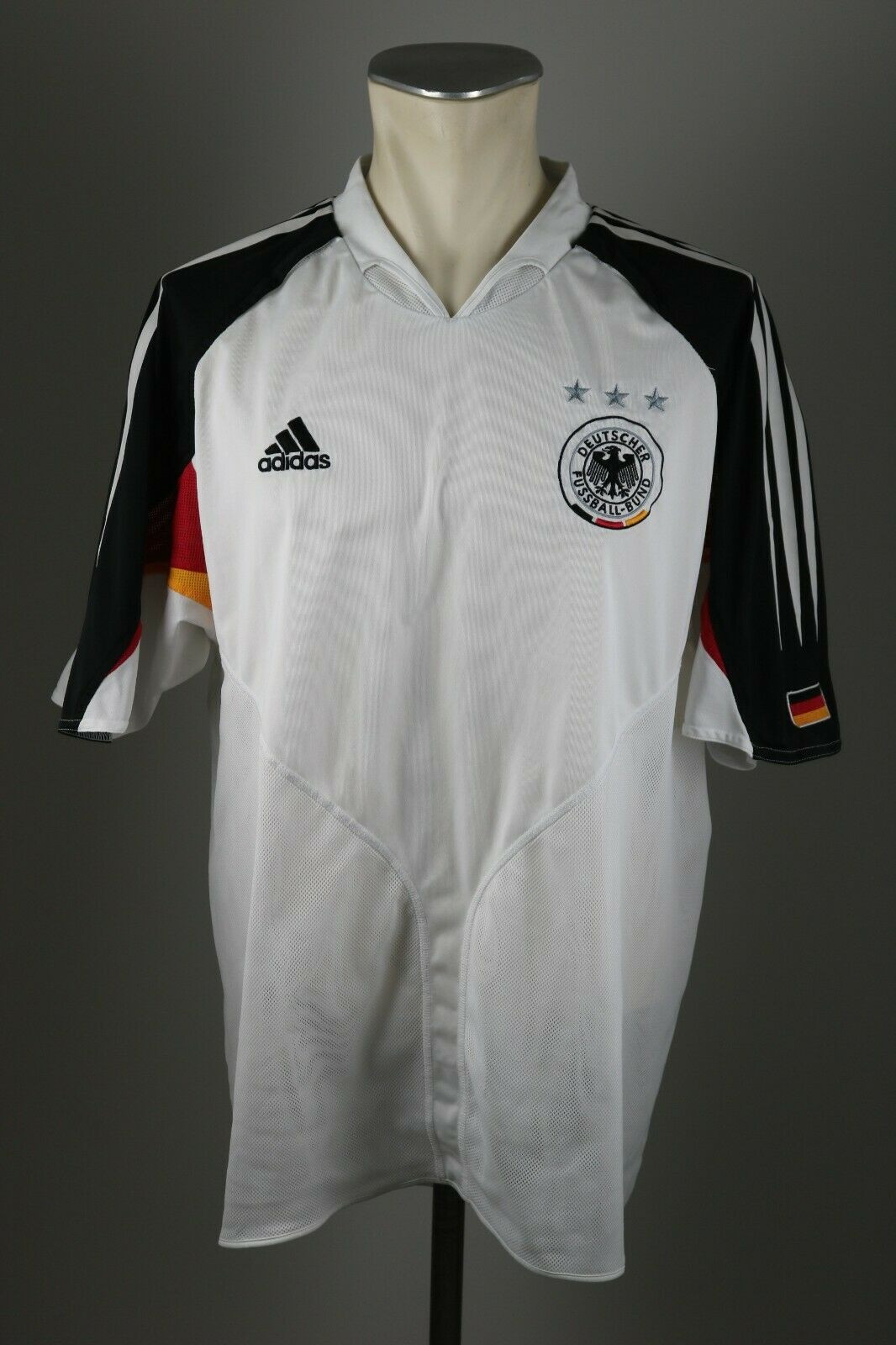 Deutschland Trikot Home 2004 Gr. XL DFB Adidas Jersey Home EM Germany