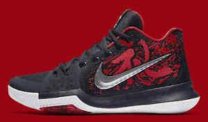 0123a4b2d4d1 Nike Kyrie 3 Samurai Christmas Mystery Release QS Size 10. 852395 ...