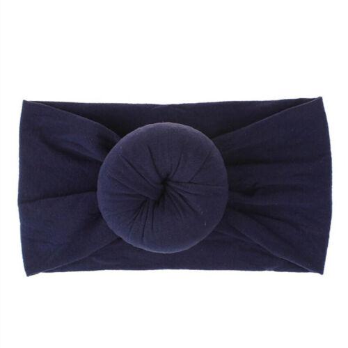 Newborn Nylon Elastic Baby Bow-knot Hair Band Girls Headband Hair Accessories