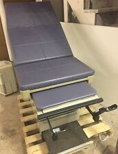MIDMARK 404 Medical Exam Table Adjustable Flexible w/Stirrups & Drawers Unit 6