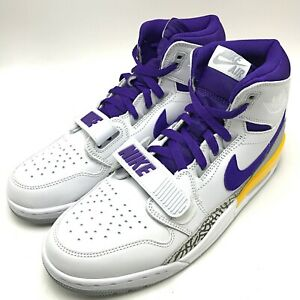 ce5721af9d4 Details about Nike Air Jordan Legacy 312 Men's Shoes White/Field  Purple-Amarillo AV3922-157