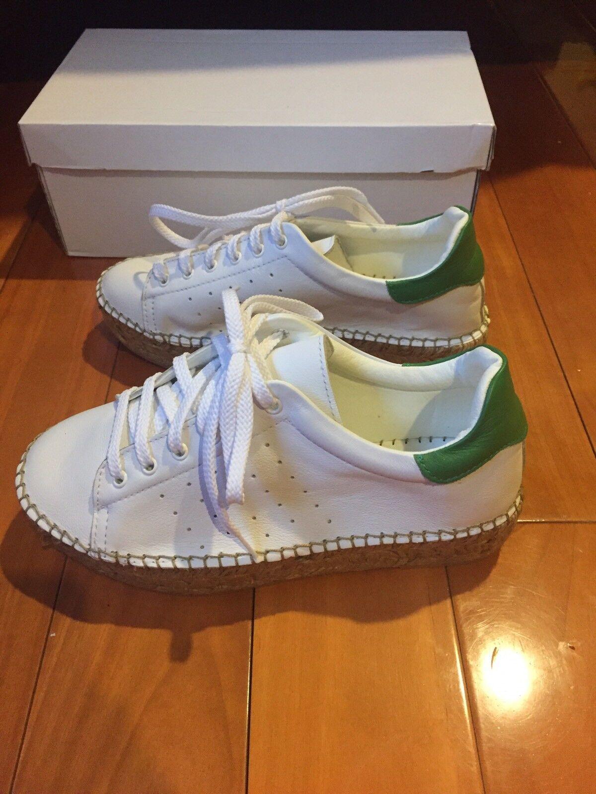 Nuevo Nuevo Nuevo en caja La caja de zapatos tenis Alpargata blancoo  alta calidad
