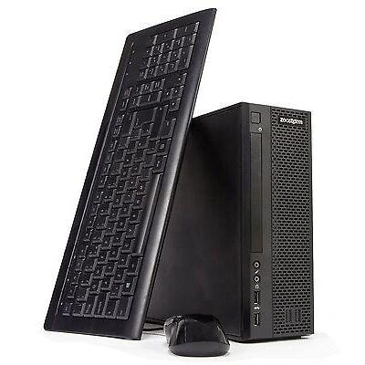 Zoostorm SFF i5-6400 Quad Core Desktop PC, 8GB, 240GB, DVD-RW, Win 10