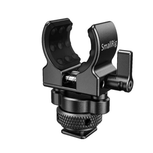 SmallRig Shotgun Microphone Holder Mic Stand with Cold Shoe BSM2352
