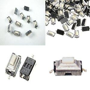 10-Pz-MICRO-pulsante-SMD-3x6x2-5-mm-PCB-pulsante-tattile-miniatura-CHIAVI