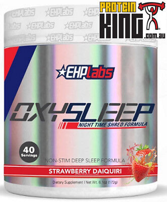 Ehp Labs Oxysleep 40 Serve Strawberry Night Time Shred Oxy Sleep