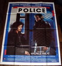 POLiCE Gérard Depardieu Sophie Marceau Maurice Pialat Bonnaire GRANDE AFFiCHE