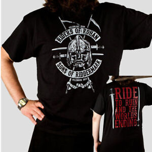 Riders-of-Rohan-Tolkien-Lord-of-the-Rings-T-shirt-men-USA-size-S-3XL