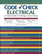 Electrical : A Field Guide to Wiring a Safe House by Redwood Kardon, Douglas...