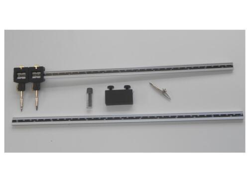 BCS Hellerman Beam Compass Length 660mm Aluminium Graduated cm//inch Ref