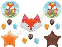 Fox Happy Birthday Party Balloons Decoration Supplies Woodland Friends Woods