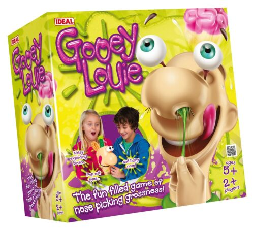 players Ideal Gooey Louie Game Age 5 years and over 2