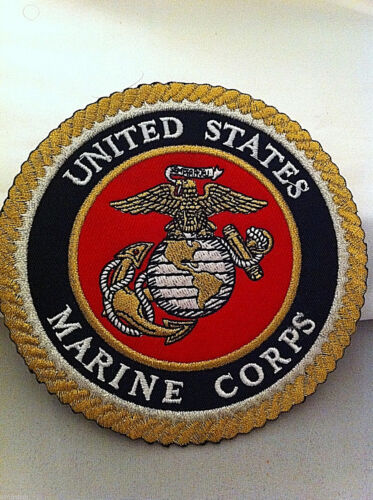 "4 1//2/"" Diameter  Free Shipping!! USMC Marine Corps Patch"