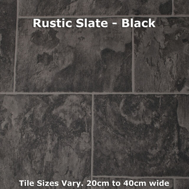 Vinyl Flooring Roll Quality Anti Slip Kitchen Lino Cushion CHEAP Wood Tile 3m 4m