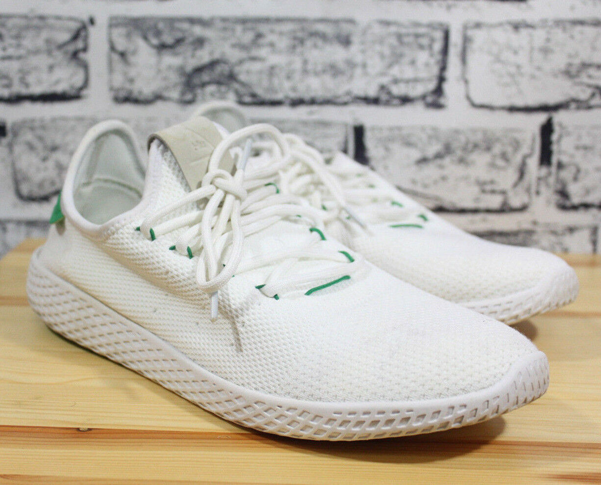 Adidas Originals Pharrell Williams Tennis Human Race shoes Mens BA7828 White 10
