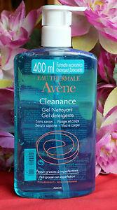 avène cleanance gel soapless cleanser