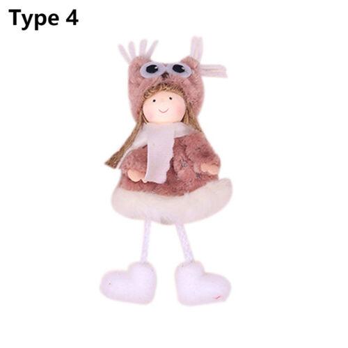 Christmas Angel Doll Toy Hanging Pendant Festival Ornament Xmas Tree Decoration~