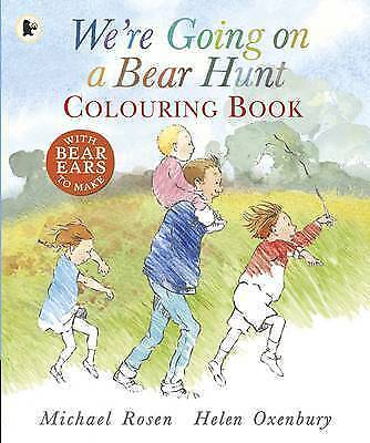 Were Going on a Bear Hunt: Colouring Book, Rosen, Michael, Used; Good Book