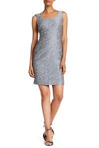 529b0b90 NWT$548 Lafayette 148 New York Rebecca Jacquard Tank Dress [SZ 12 ...