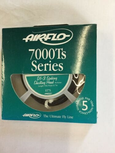 AIRFLO 7000Ts SERIES DI3 SINKING SHOOTING HEAD ST7S FLY LINE