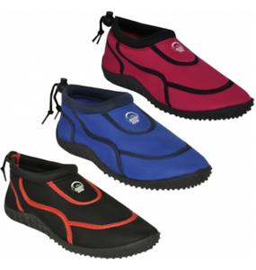 Hot Beach Womens Splasher Holiday Pool Beach Hot Sea Aqua Shoes Slip On  Size  3 - 7 20207a