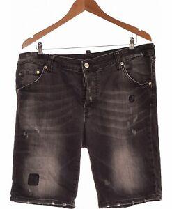Short-Homme-Dsquared-Taille-46-T6-Xxl-Gris