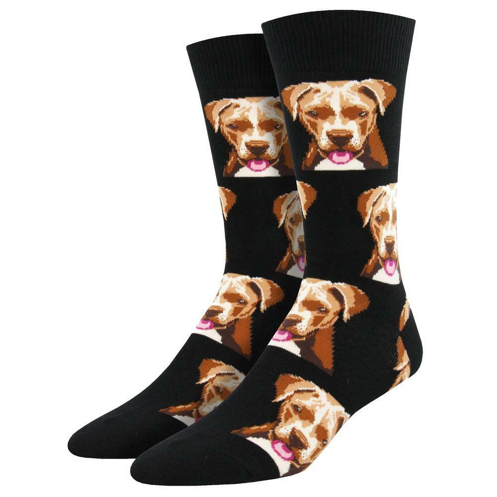 Foot Traffic Cotton Blend Head Bitch in Charge Quote Black Womens Crew Socks New