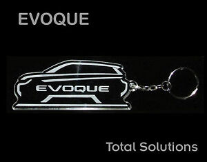 Range-Rover-Evoque-Logo-Style-Car-Shape-Keychain-including-Text-Laser-Engraved