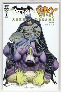 Batman-The-Maxx-Arkham-Dreams-Issue-1-DC-Comics-Cover-B-1st-Print-2018