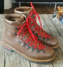 Vintage Fabiano Mountain Trail Boots Italy Size 11.5  #81774 Scarpa Vibram